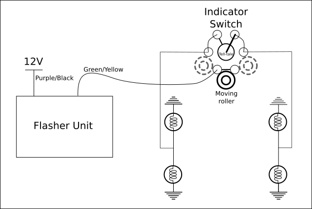 Lucas Flasher Unit Wiring Diagram from aanddnotes.github.io